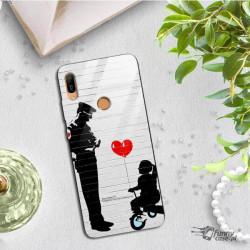 ETUI BLACK CASE GLASS NA TELEFON HUAWEI Y6 PRIME 2019 / Y6S ST_BANKSY_2020-2-101