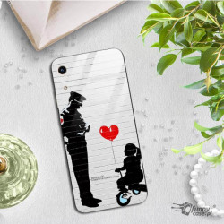 ETUI BLACK CASE GLASS NA TELEFON HUAWEI HONOR 8A ST_BANKSY_2020-2-101