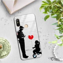 ETUI BLACK CASE GLASS NA TELEFON XIAOMI MI A2 LITE ST_BANKSY_2020-2-101
