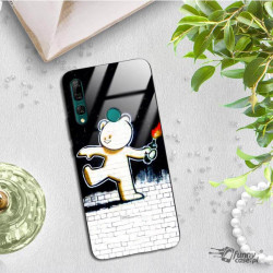 ETUI BLACK CASE GLASS NA TELEFON HUAWEI Y9 PRIME 2019 ST_BANKSY_2020-2-103