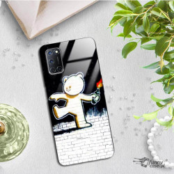 ETUI BLACK CASE GLASS NA TELEFON OPPO A52 ST_BANKSY_2020-2-103