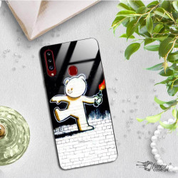 ETUI BLACK CASE GLASS NA TELEFON SAMSUNG GALAXY A20S ST_BANKSY_2020-2-103