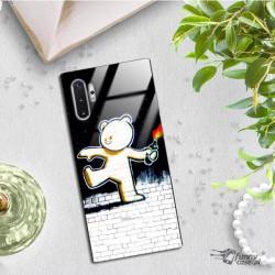 ETUI BLACK CASE GLASS NA TELEFON SAMSUNG GALAXY NOTE 10 PLUS ST_BANKSY_2020-2-103