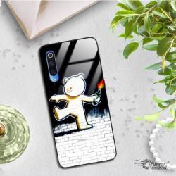 ETUI BLACK CASE GLASS NA TELEFON XIAOMI MI 9 ST_BANKSY_2020-2-103