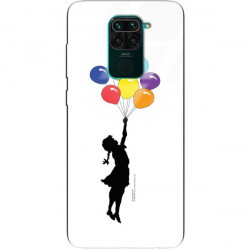 ETUI BLACK CASE GLASS NA TELEFON XIAOMI REDMI NOTE 9 ST_BANKSY_2020-2-105
