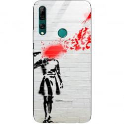 ETUI BLACK CASE GLASS NA TELEFON HUAWEI Y9 PRIME 2019 ST_BANKSY_2020-2-107
