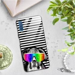 ETUI BLACK CASE GLASS NA TELEFON SAMSUNG GALAXY A7 2018 ST_JODI-PEDRI_2020-2-105