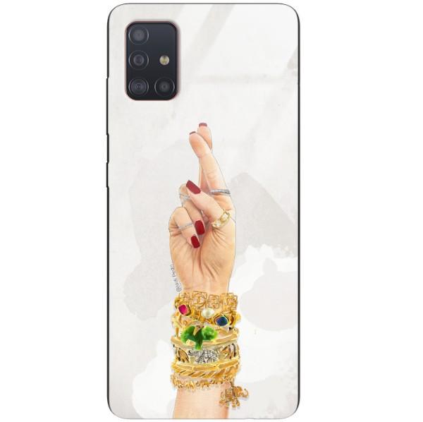 ETUI BLACK CASE GLASS NA TELEFON SAMSUNG GALAXY A51 ST_JODI-PEDRI_2020-2-103