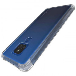 ETUI ANTI-SHOCK NA TELEFON MOTOROLA MOTO E7 PLUS TRANSPARENT