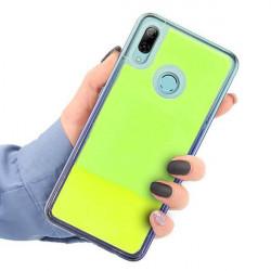 ETUI LIQUID NEON NA TELEFON HUAWEI P SMART 2019 ZIELONY