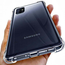ETUI ANTI-SHOCK NA TELEFON SAMSUNG GALAXY M51 TRANSPARENT