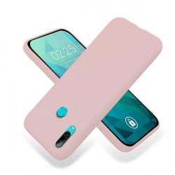 ETUI GUMA SMOOTH NA TELEFON HUAWEI Y7 2019 PUDROWY RÓŻ
