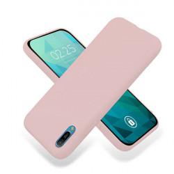 ETUI GUMA SMOOTH NA TELEFON HUAWEI Y6 2019 PUDROWY RÓŻ
