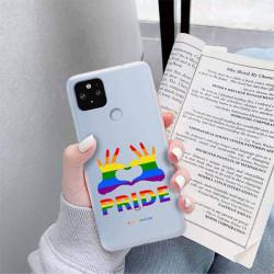 ETUI CLEAR NA TELEFON GOOGLE PIXEL 5 XL LGBT-2020-1-100
