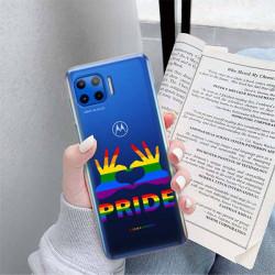 ETUI CLEAR NA TELEFON MOTOROLA MOTO G 5G PLUS LGBT-2020-1-100