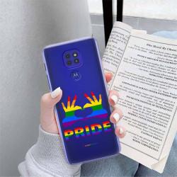 ETUI CLEAR NA TELEFON MOTOROLA MOTO G9 / G9 PLAY LGBT-2020-1-100