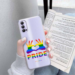 ETUI CLEAR NA TELEFON OPPO RENO 4 LGBT-2020-1-100