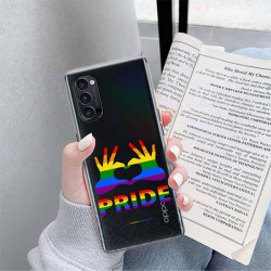 ETUI CLEAR NA TELEFON OPPO RENO 4 PRO 5G LGBT-2020-1-100