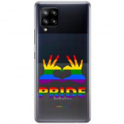 ETUI CLEAR NA TELEFON SAMSUNG GALAXY A42 5G LGBT-2020-1-100