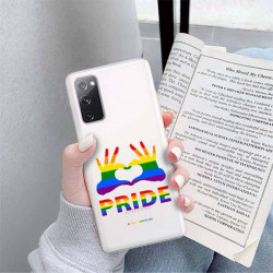 ETUI CLEAR NA TELEFON SAMSUNG GALAXY S20FE / S20 LITE LGBT-2020-1-100