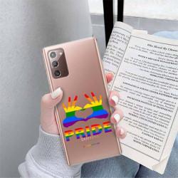ETUI CLEAR NA TELEFON SAMSUNG GALAXY NOTE 20 LGBT-2020-1-100