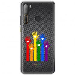 ETUI CLEAR NA TELEFON HTC DESIRE 20 PRO LGBT-2020-1-101