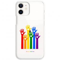 ETUI CLEAR NA TELEFON APPLE IPHONE 12 MINI LGBT-2020-1-101