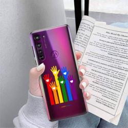 ETUI CLEAR NA TELEFON MOTOROLA EDGE LGBT-2020-1-101