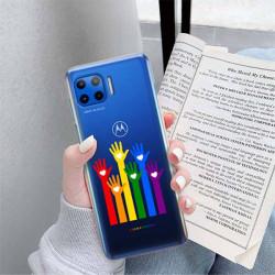 ETUI CLEAR NA TELEFON MOTOROLA MOTO G 5G PLUS LGBT-2020-1-101