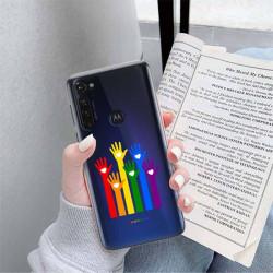 ETUI CLEAR NA TELEFON MOTOROLA MOTO G PRO LGBT-2020-1-101