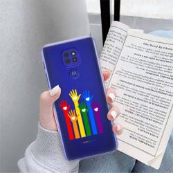 ETUI CLEAR NA TELEFON MOTOROLA MOTO G9 / G9 PLAY LGBT-2020-1-101