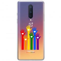 ETUI CLEAR NA TELEFON ONEPLUS 8 LGBT-2020-1-101
