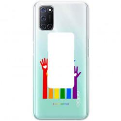 ETUI CLEAR NA TELEFON OPPO A52 / A72 LGBT-2020-1-101