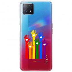 ETUI CLEAR NA TELEFON OPPO A72 5G LGBT-2020-1-101