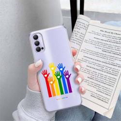 ETUI CLEAR NA TELEFON OPPO RENO 4 LGBT-2020-1-101