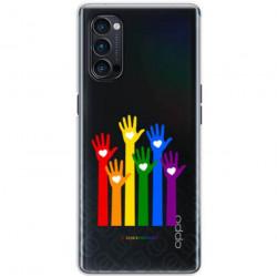 ETUI CLEAR NA TELEFON OPPO RENO 4 PRO 5G LGBT-2020-1-101