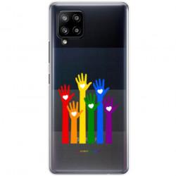 ETUI CLEAR NA TELEFON SAMSUNG GALAXY A42 5G LGBT-2020-1-101