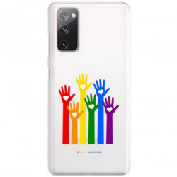 ETUI CLEAR NA TELEFON SAMSUNG GALAXY S20FE / S20 LITE LGBT-2020-1-101