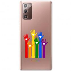 ETUI CLEAR NA TELEFON SAMSUNG GALAXY NOTE 20 LGBT-2020-1-101