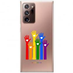ETUI CLEAR NA TELEFON SAMSUNG GALAXY NOTE 20 ULTRA LGBT-2020-1-101