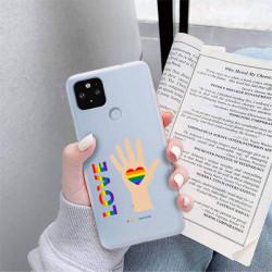 ETUI CLEAR NA TELEFON GOOGLE PIXEL 5 XL LGBT-2020-1-102