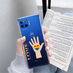 ETUI CLEAR NA TELEFON MOTOROLA MOTO G 5G PLUS LGBT-2020-1-102