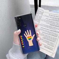 ETUI CLEAR NA TELEFON MOTOROLA MOTO G PRO LGBT-2020-1-102