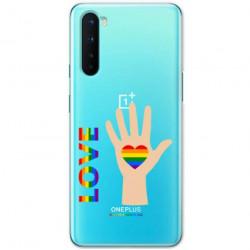 ETUI CLEAR NA TELEFON ONEPLUS NORD LGBT-2020-1-102