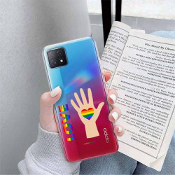 ETUI CLEAR NA TELEFON OPPO A72 5G LGBT-2020-1-102