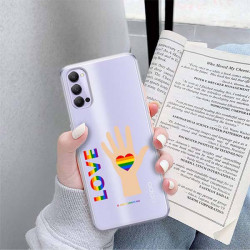 ETUI CLEAR NA TELEFON OPPO RENO 4 LGBT-2020-1-102
