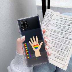 ETUI CLEAR NA TELEFON SAMSUNG GALAXY A42 5G LGBT-2020-1-102