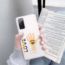 ETUI CLEAR NA TELEFON SAMSUNG GALAXY S20FE / S20 LITE LGBT-2020-1-102