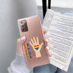 ETUI CLEAR NA TELEFON SAMSUNG GALAXY NOTE 20 LGBT-2020-1-102