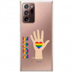 ETUI CLEAR NA TELEFON SAMSUNG GALAXY NOTE 20 ULTRA LGBT-2020-1-102